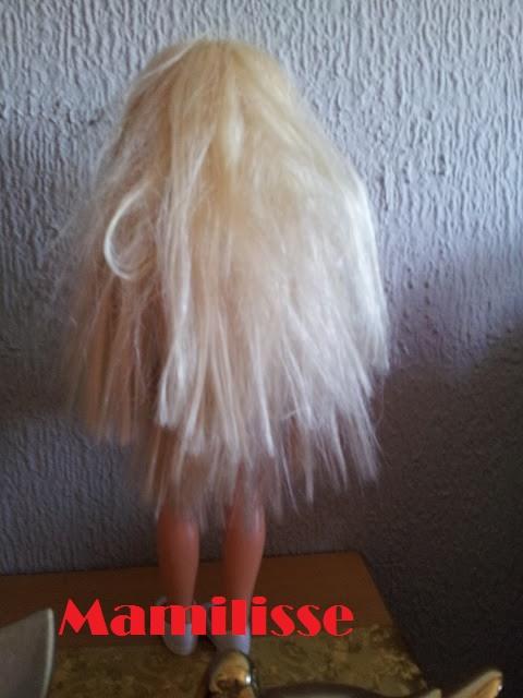 Nancy Maletín de Peinados, sin peinar