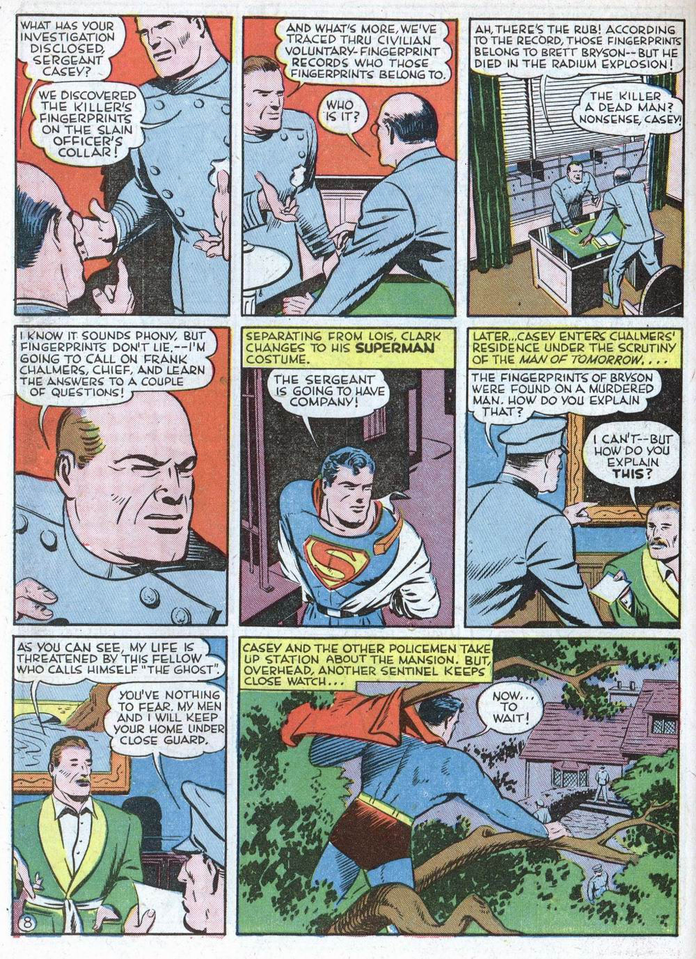 Read online Action Comics (1938) comic -  Issue #39 - 10