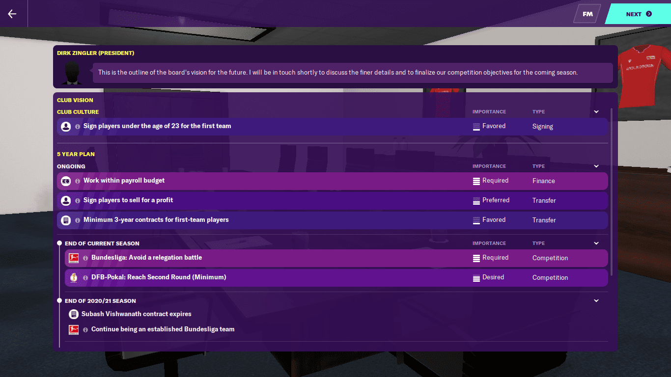 Interesting Challenges Football Manager 2020