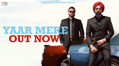 Latest Song Yaar mere lyrics penned by Tarsem Jassar & sung by Kulbir Jhinjer & Tarsem Jassar for My Pride Album. Oh yaar mere yaar mere oh aaunde ne