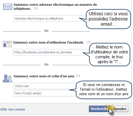 How to recover a pirated Facebook account! 3 possibilities for the recovery of your account