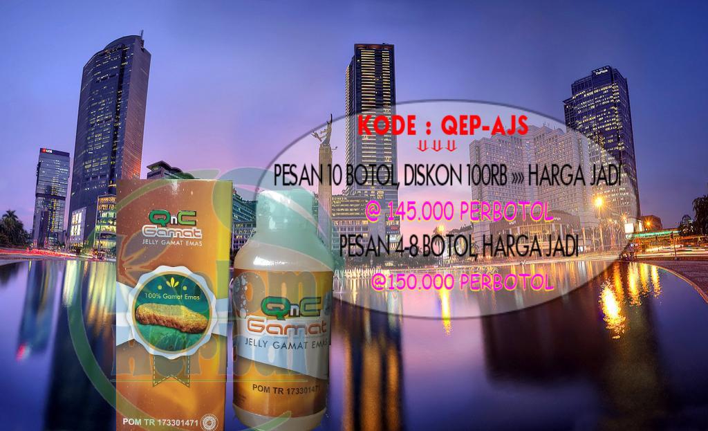 Agen Qnc Jelly Gamat Di Jakarta Selatan