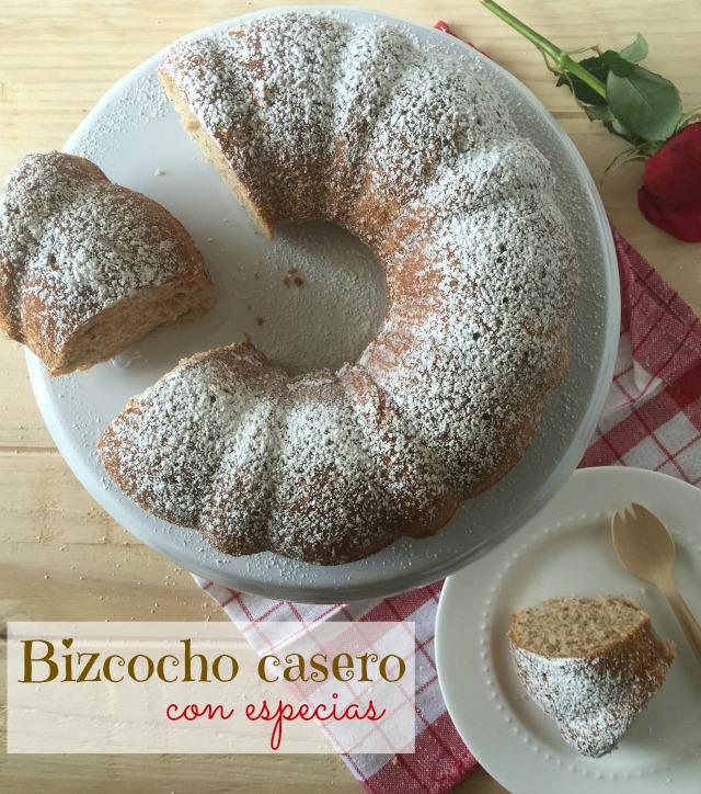 Bizcochos casero con especias | http://bizcochosysancochos.blogspot.com/