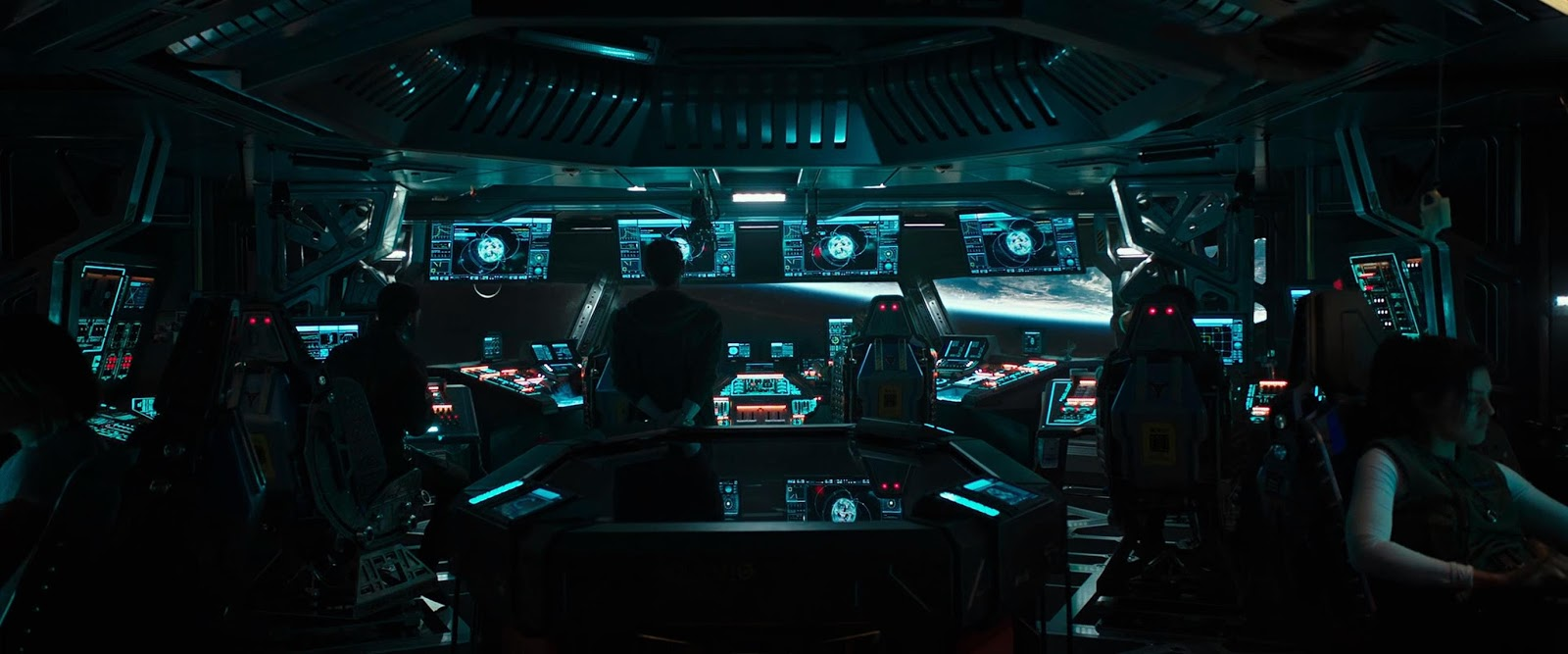 Alien: Covenant (2017) HD 720p Latino - Ingles captura 3