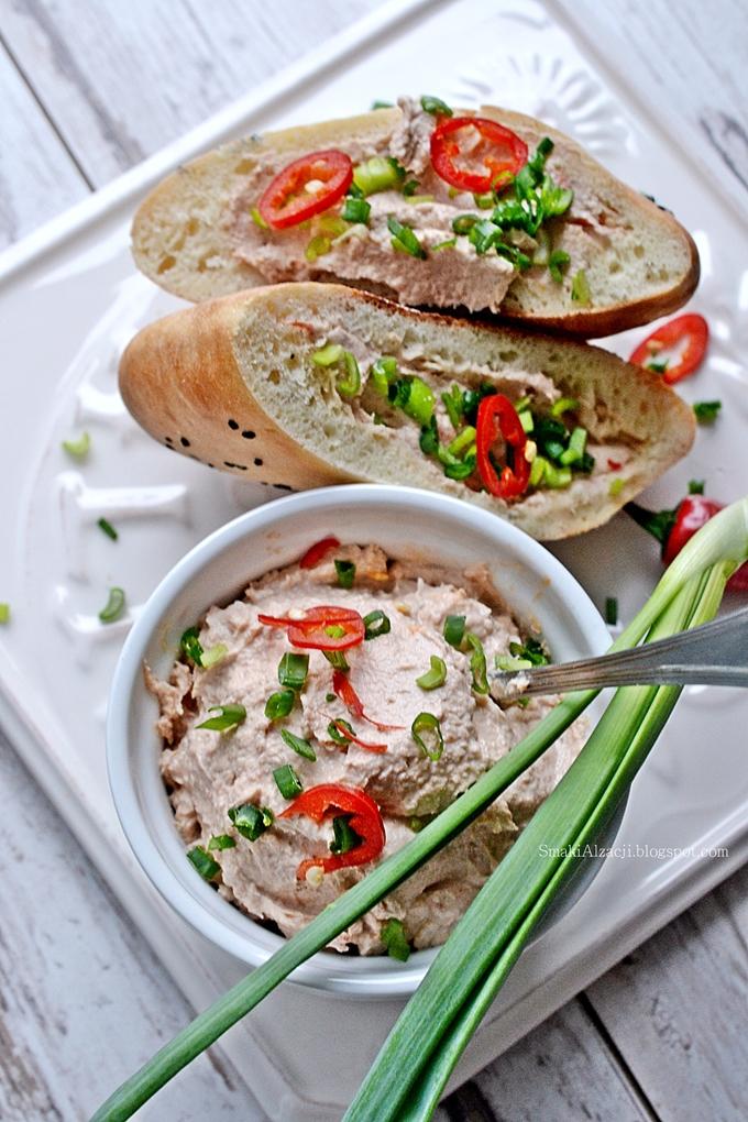A na śniadanie...pasta z tuńczyka i ricotty- pycha!