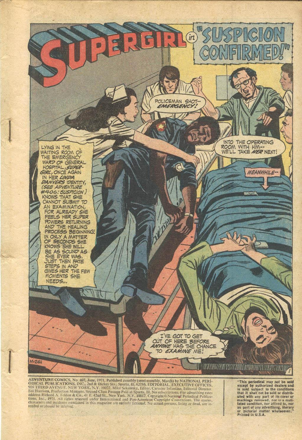 Read online Adventure Comics (1938) comic -  Issue #407 - 3