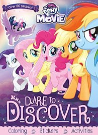 My Little Pony MLP The Movie: Dare to Discover Books