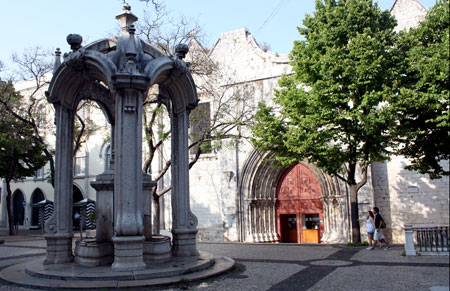 igreja do carmo lissabon