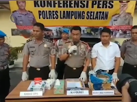 Dua Pemuda Diciduk Polisi Usai Terima Paket Berisi Ganja asal Aceh
