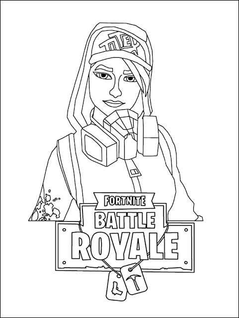 Best Fortnite Coloring Pages Printable FREE - COLORING ...