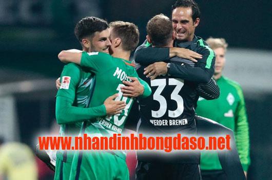 Werder Bremen vs Eintracht Frankfurt www.nhandinhbongdaso.net