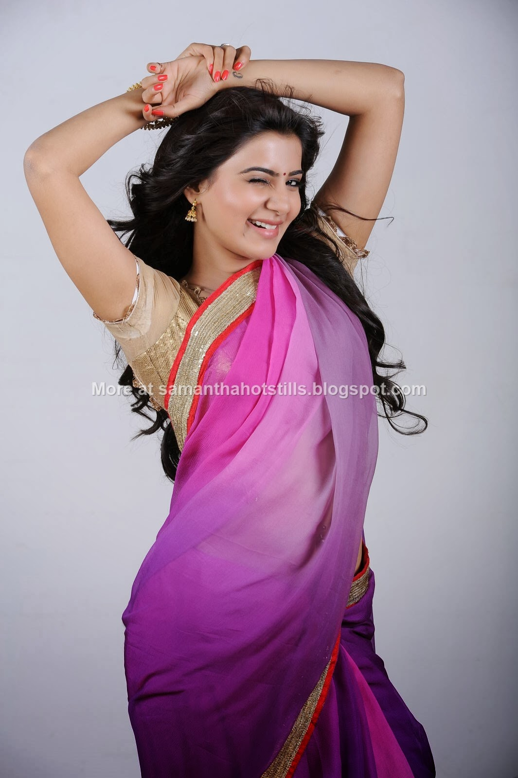 samantha ruth prabhu in saree images ~ actress-samantha-ruth-prabhu