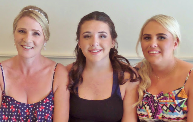 wedding makeup mom and daughters