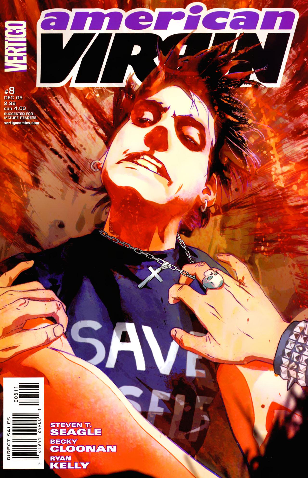 Read online American Virgin comic -  Issue #8 - 1