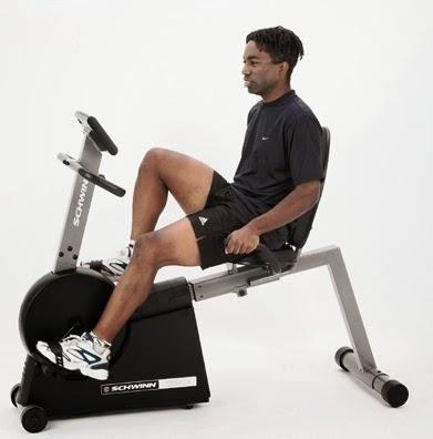 Schwinn Recumbent Exercise Bike ~ Workout Equipments