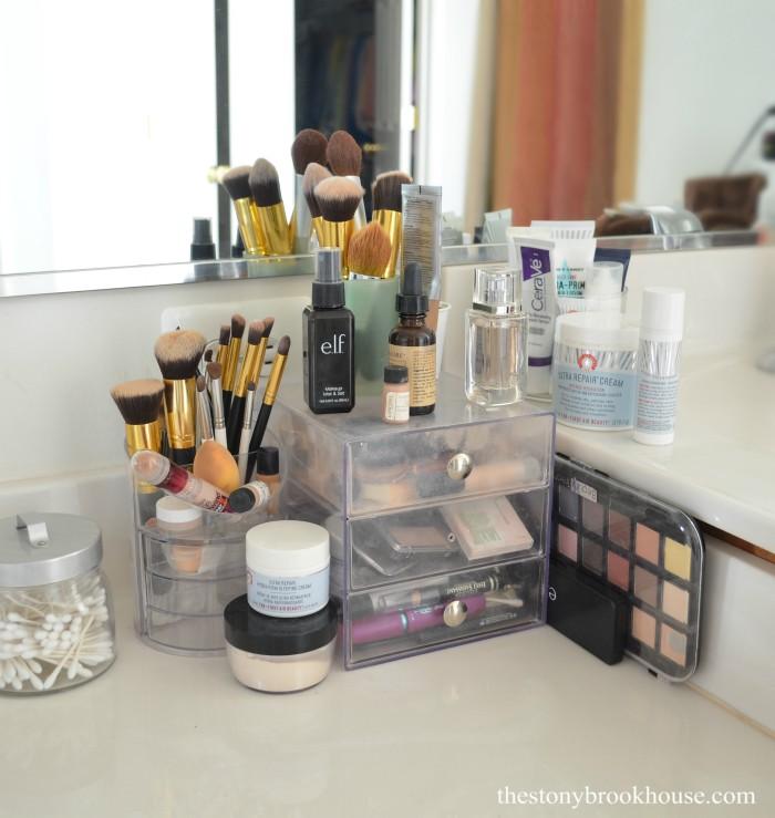 Old Makeup Mess