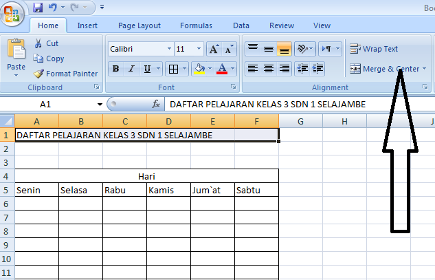 Cara Mudah Membuat Tabel Di Microsoft Excel Siap Belajar