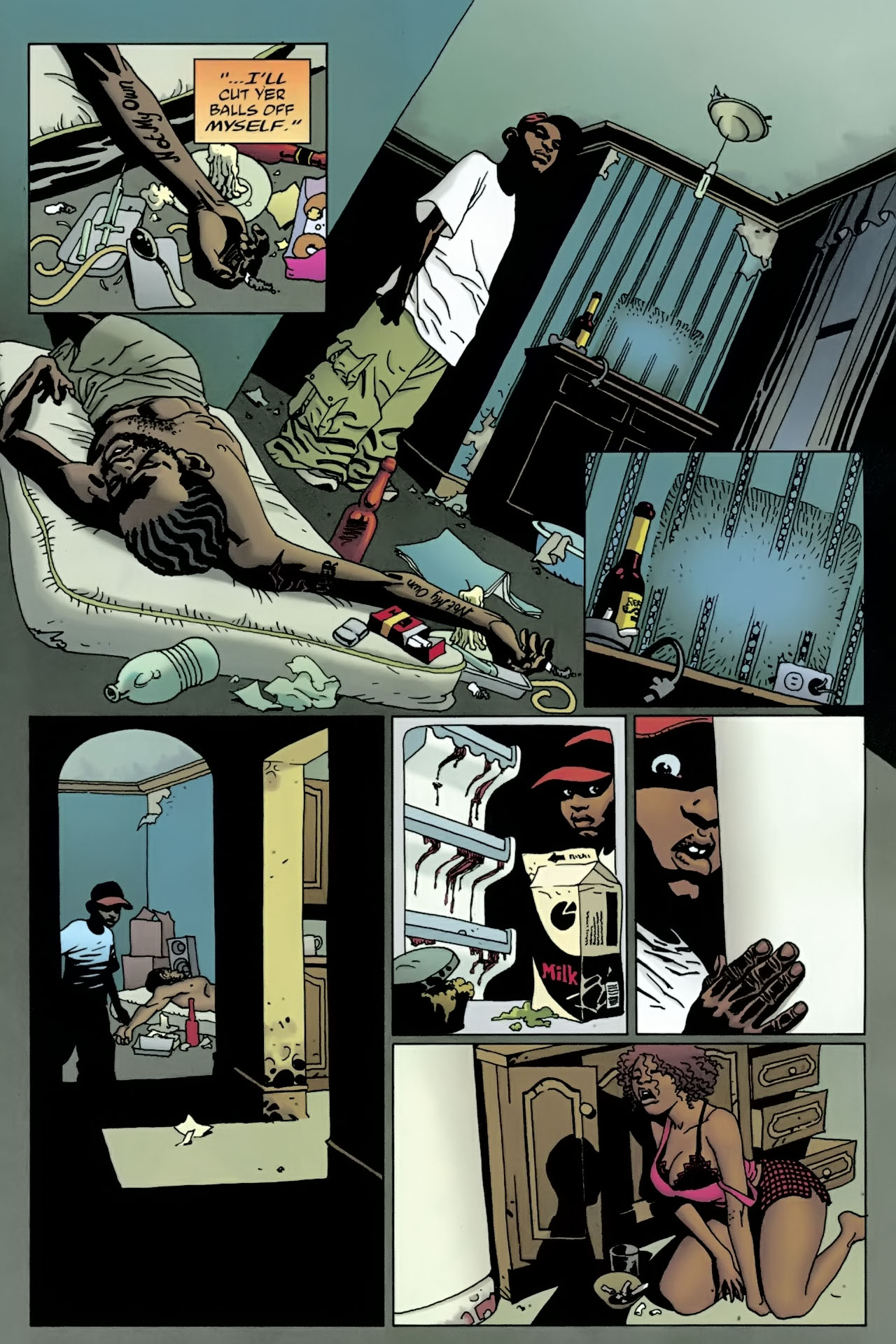 Read online 100 Bullets comic -  Issue #90 - 6
