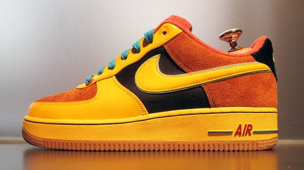 low cost 4c32d d38d2 Nike Air Force 1 Bespoke by Fran Marchello