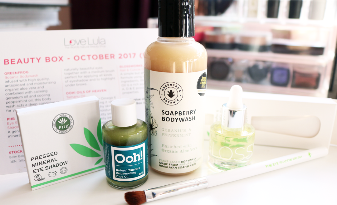 LoveLula Beauty Box - October 2017 review