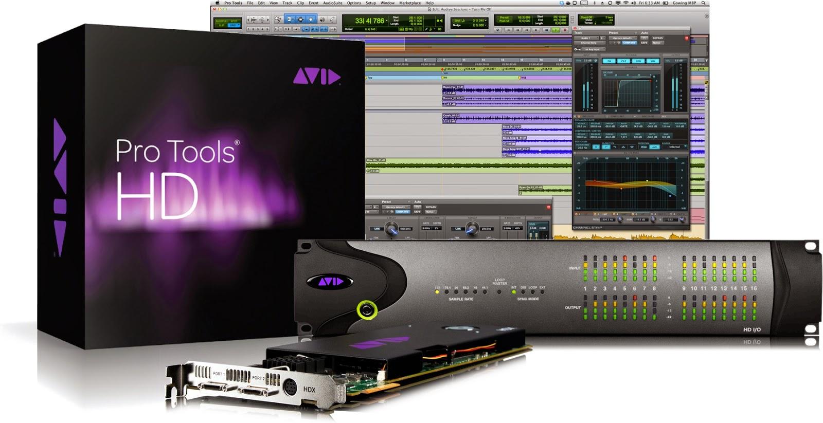 Mac <b>Avid</b> <b>Pro</b> <b>Tools</b> HD 10.3.10 & <b>Avid</b> Virtual Instruments…