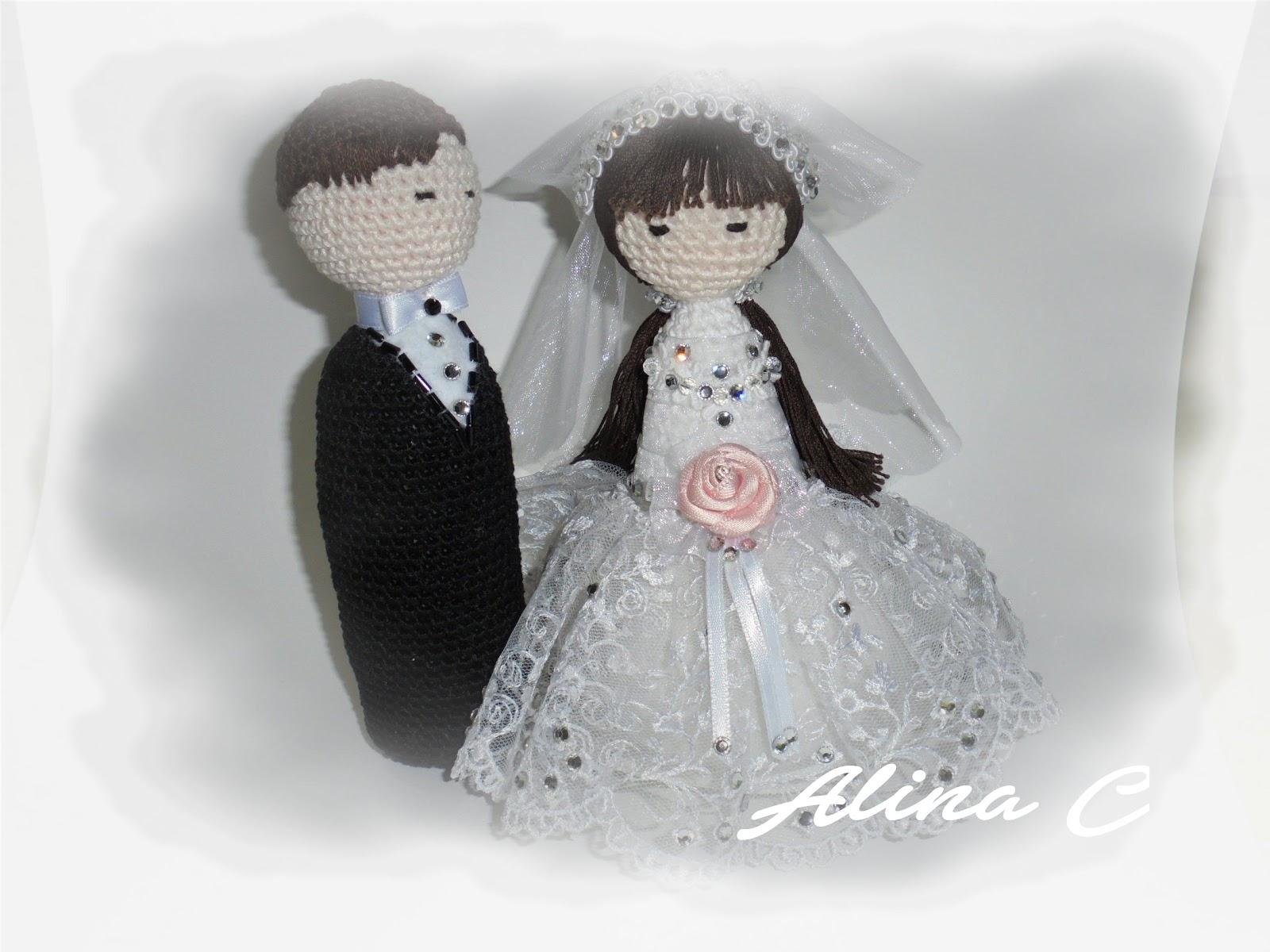 Amigurumi Simple Patterns : lo spazio di lilla: Sposi Amigurumi / Amigurumi Bride and ...