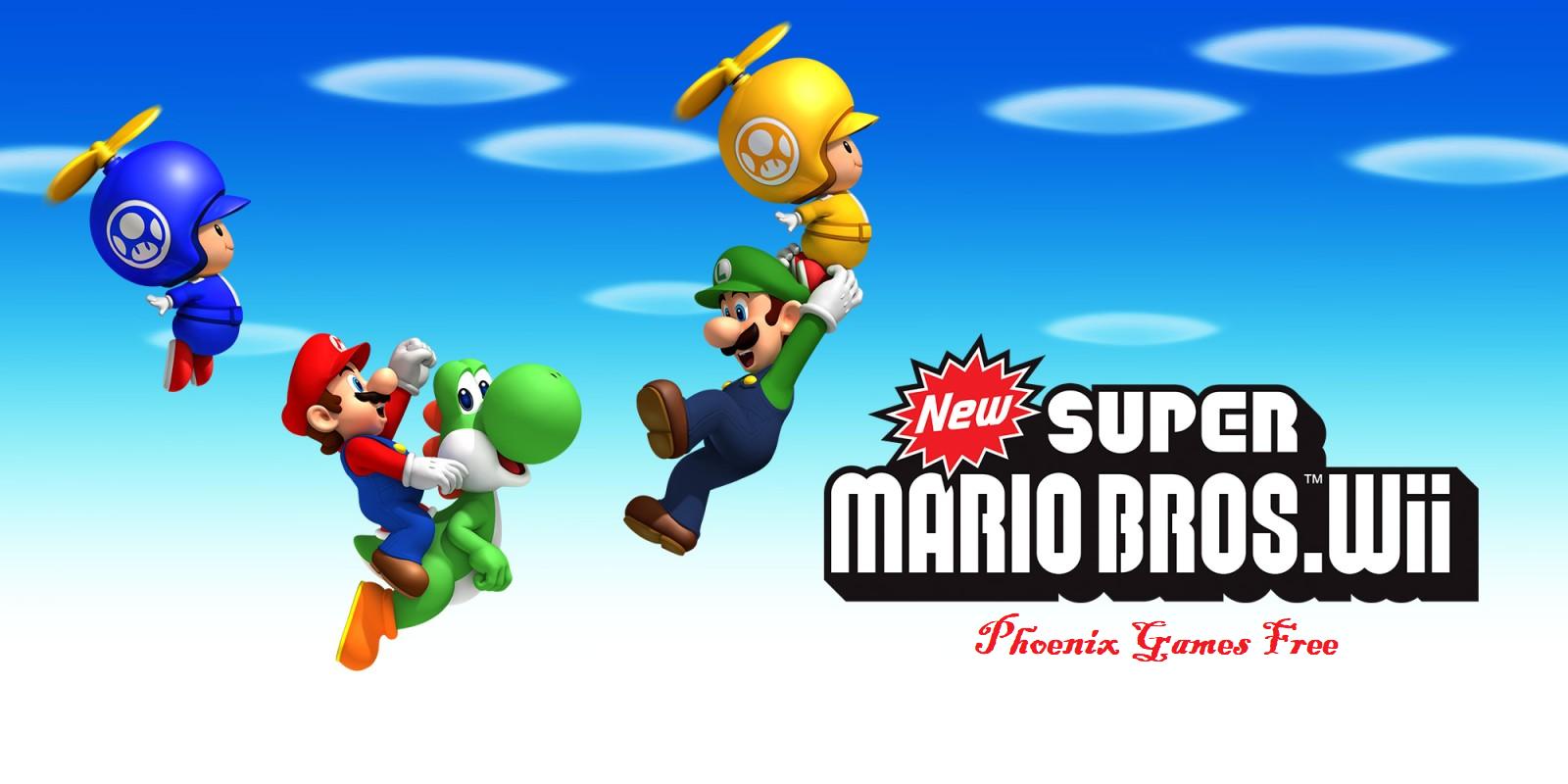 new super mario bros wii download mega