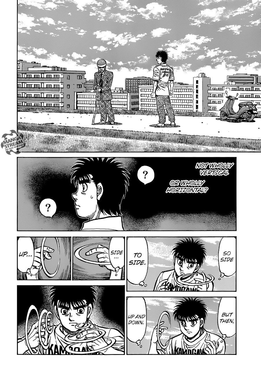 Hajime no Ippo - Chapter 1147