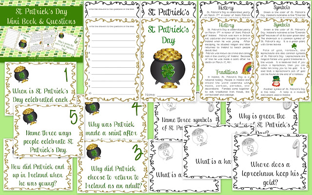St. Patrick's Day ideas and freebies for the ELA classroom!  Check out my favorite St. Patrick's Day picture books and activities focused on theme, main idea, and idioms.