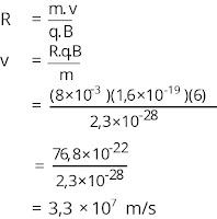 Jawaban soal fisika tentang medan magnetik nomor 8