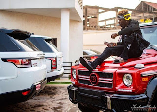 PHOTOS: Dancehall Singer, Shatta Wale shows off his expensive whips