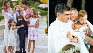Ο Σάκης Ρουβάς βάφτισε τον μικρό του γιο και οι φωτογραφίες με την πανέμορφη οικογένειά του λιώνουν το διαδίκτυο