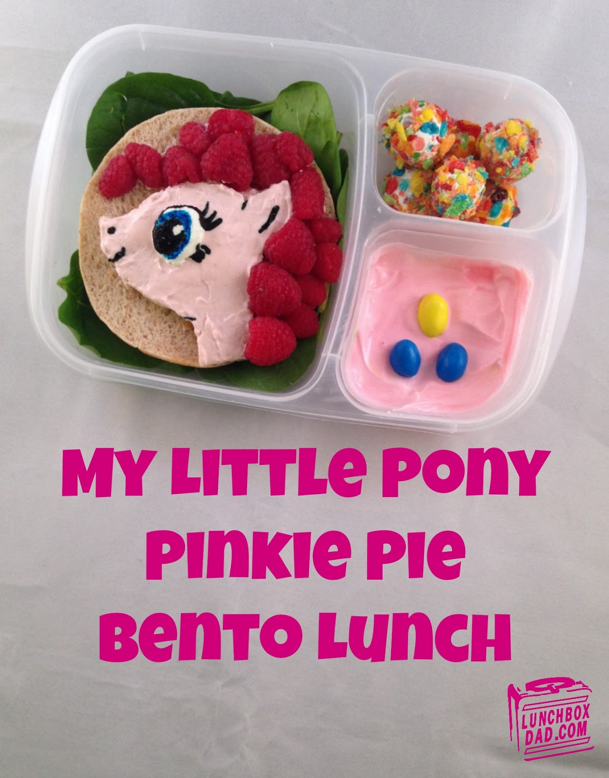 My Little Pony Pinkie Pie Bento Lunch