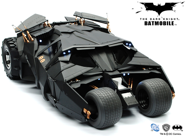 Batmobile for powerful cars from movies