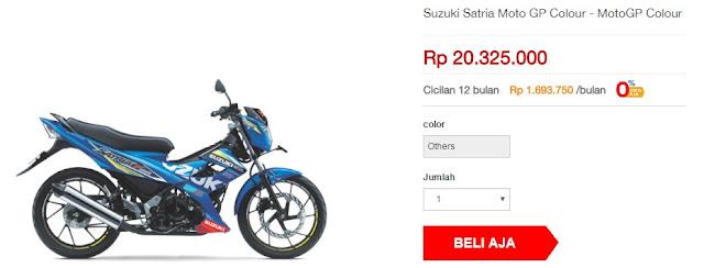 Suzuki Satria FU150 MotoGP Colour (Rp 20.325.000)
