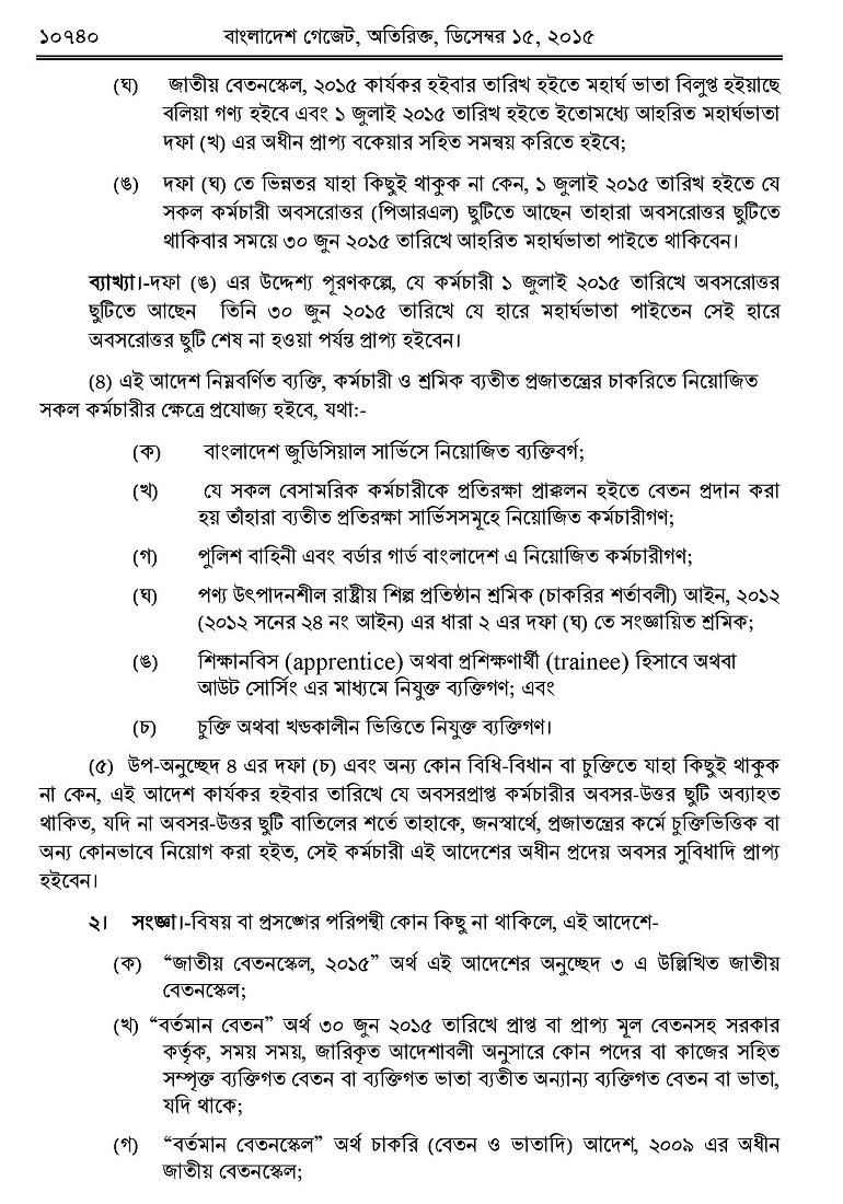 Salary range in bangladesh
