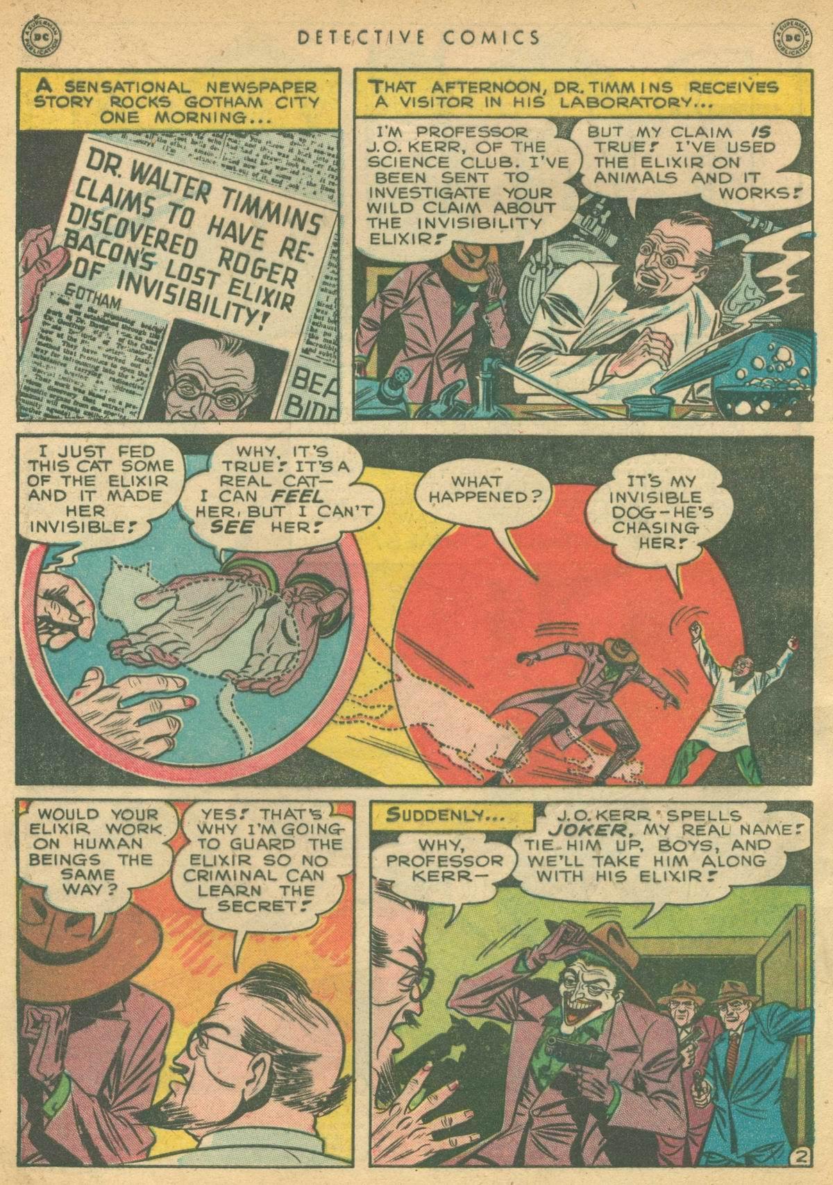 Detective Comics (1937) 138 Page 3