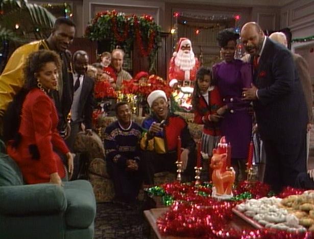 Prince Christmas Decorations.Christmas Tv History The Fresh Prince Of Bel Air Christmas