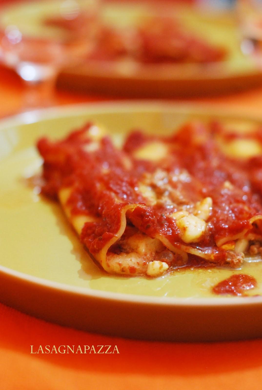 Lasagnapazza Cannelloni Senza Besciamella