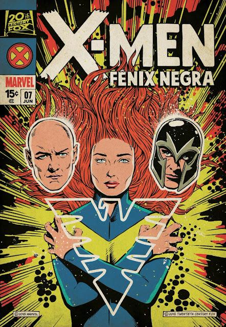 X-Men Fênix Negra ganhou novo pôster. Desta vez inspirado nas HQs – Confira!