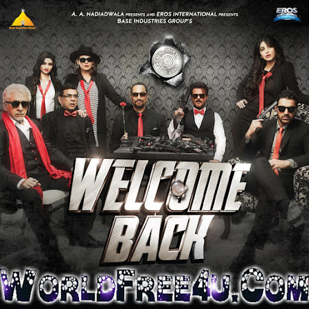 Cover Of Welcome Back (2015) Hindi Movie Mp3 Songs Free Download Listen Online At worldfree4u.com