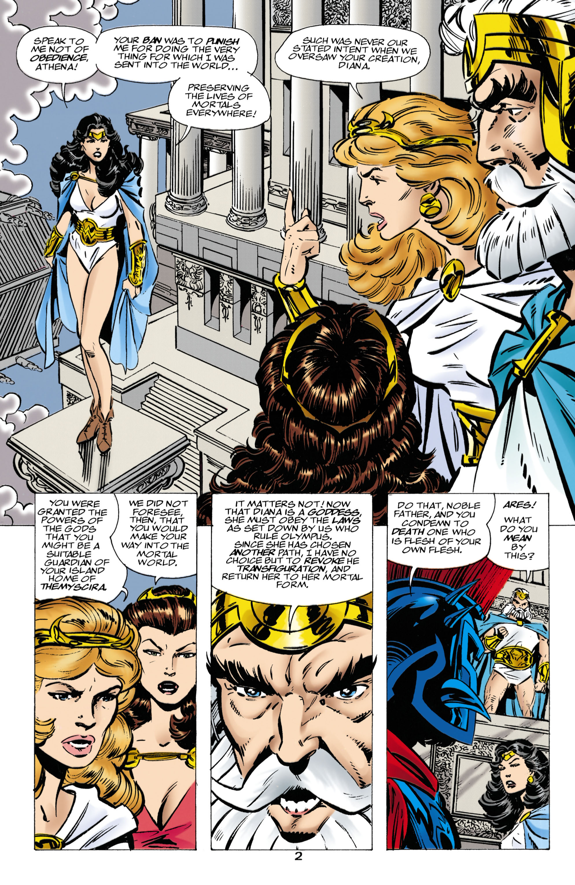 Read online Wonder Woman (1987) comic -  Issue #136 - 3