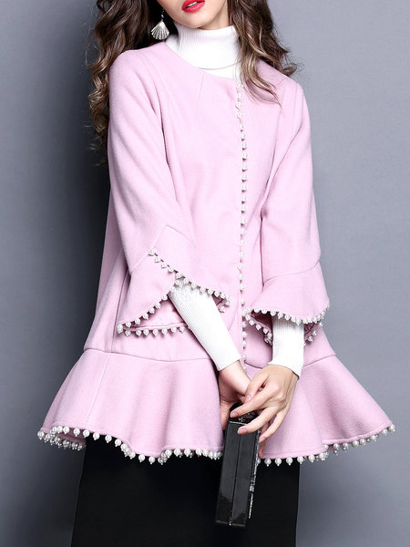 https://www.stylewe.com/product/casual-frill-sleeve-beaded-crew-neck-coat-92598.html