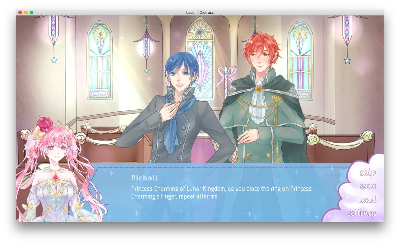 otometwist visual novel review lads in distress