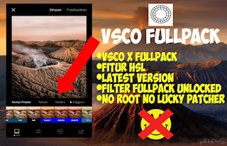 VSCO CAM versi 96 + VSCO X Fullpack No Root [LATEST WORK]