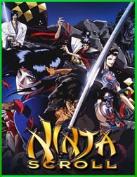 Jûbê Ninpûchô (Ninja Scroll) (1993) | DVDRip Latino HD Mega 1 Link