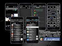 BeWhatsApp Black 3D v1.0 Terbaru By Mifta Hry