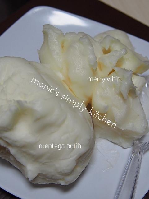 gambar mentega putih n merry whip