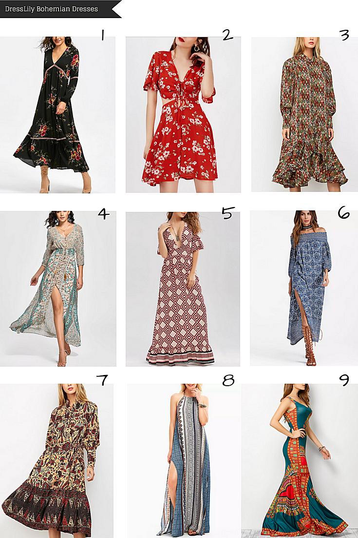 DressLily Bohemian Dresses
