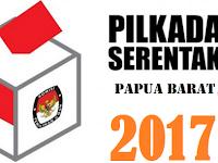 Berikut Ini Hasil Perolehan Suara Pilgub Papua Barat 2017